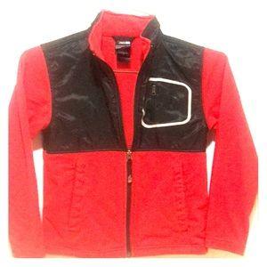 Boys size Small North Face fleece jacket